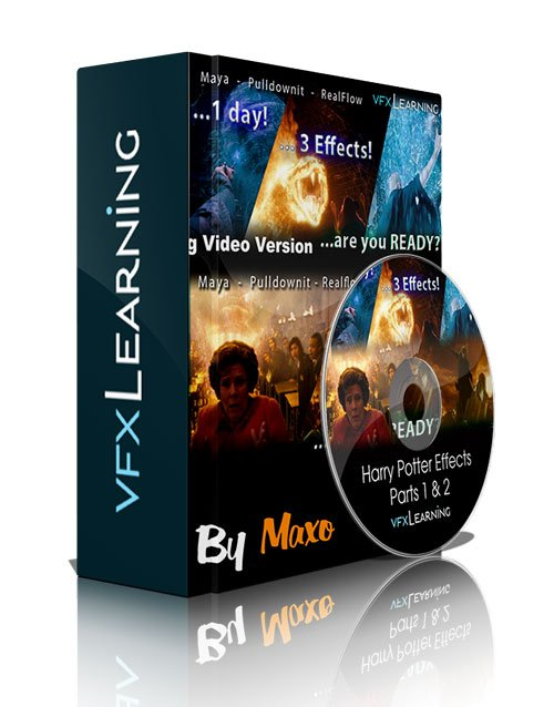 VFXLearning: Harry Potter Effects Parts 1 & 2