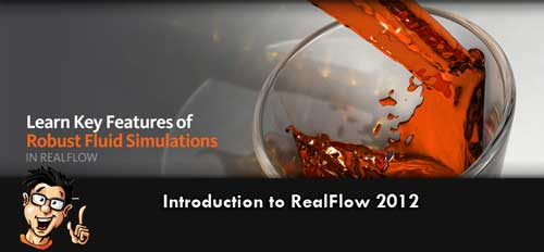 Digital-Tutors - Introduction to RealFlow 2012