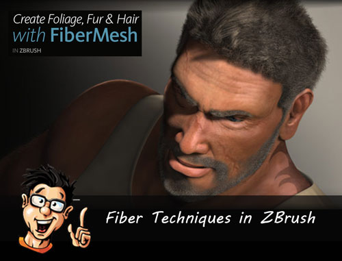Digital - Tutors - Fiber Techniques in ZBrush
