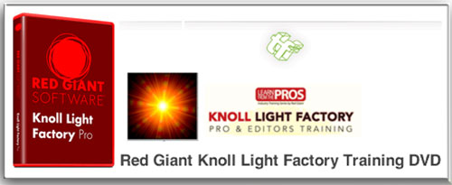 TOOLFARM - Red Giant Knoll Light Factory Training
