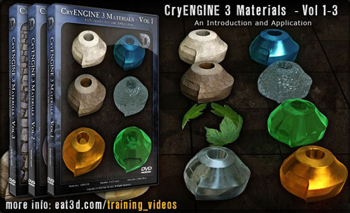 Eat3D – CryENGINE 3 Materials - Vol 1-3 - An Introduction and Application