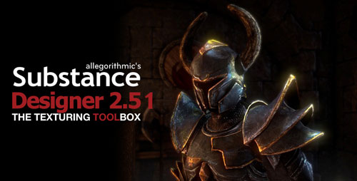 Allegorithmic – Substance Designer 2.5.1 Build 9078