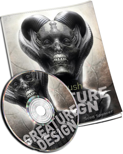 ZBrush Creature Design – Creating Dynamic Concept Imagery for Film and Games + DVD
