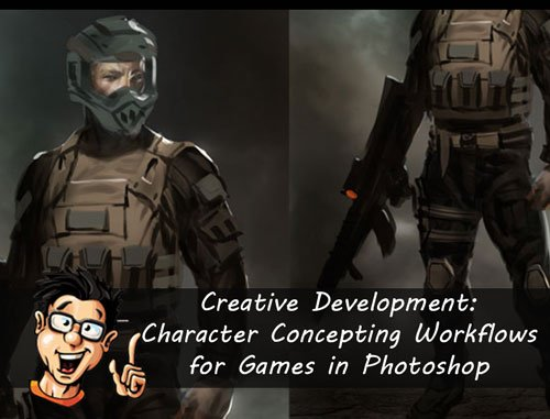 Digital - Tutors - Creative Development: Character Concepting Workflows for Games in Photoshop with Eric Chiang