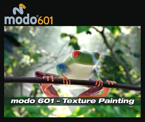 Luxology : modo 601 – Texture Painting