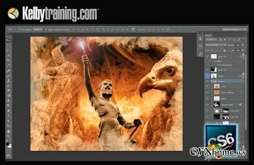 KelbyTraining – Photoshop CS6: Design Features