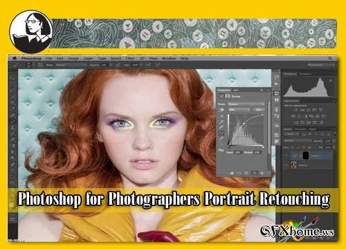 Photoshop for Photographers Portrait Retouching