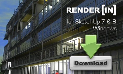 Renderin 2.0.7 For  SketchUp 8