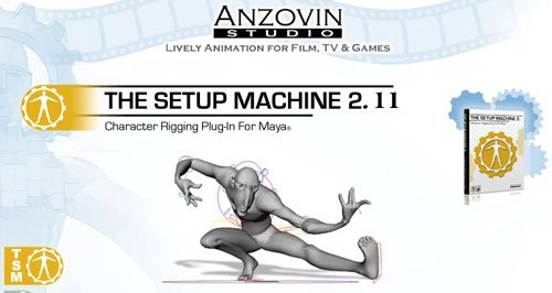 The Setup Machine Ver 2.11 For Maya 2013