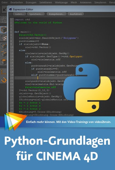 video2brain – Python-Grundlagen fur CINEMA 4D