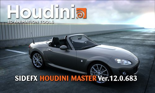 SideFX Houdini Master v12.0.683 for Windows/MacOSX/Linux (x32/x64)