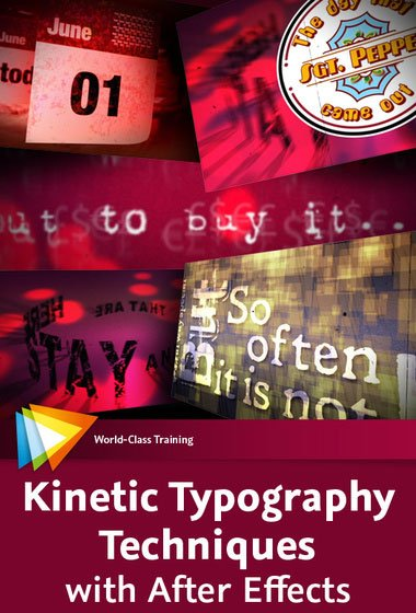 video2brain – Kinetic Typography Techniques with After Effects ( English )