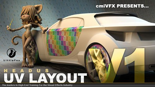 cmiVFX – Headus UVLayout Vol 1 – Advanced UV's For Beginners