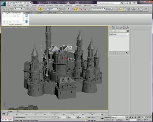 3D-Palace - 3ds Max Modular Creation of Castles