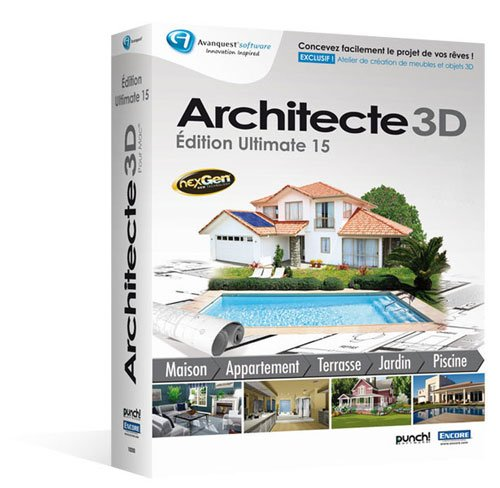 Avanquest 3ds portal cg resources for artists for Architecte 3d avanquest