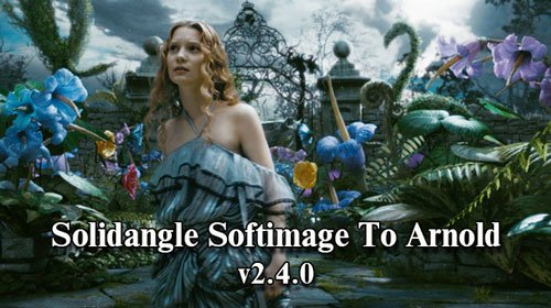 Solidangle Softimage To Arnold (Sitoa)  v2.4.0