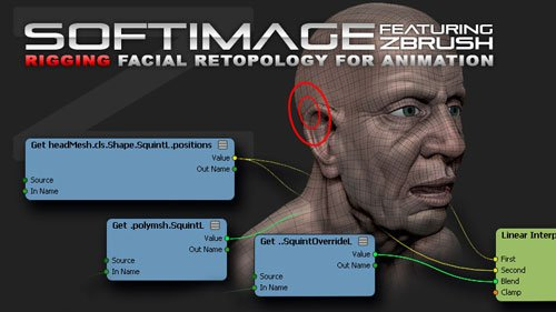 cmivfx - Softimage Facial Retopo And Rigging For Animation