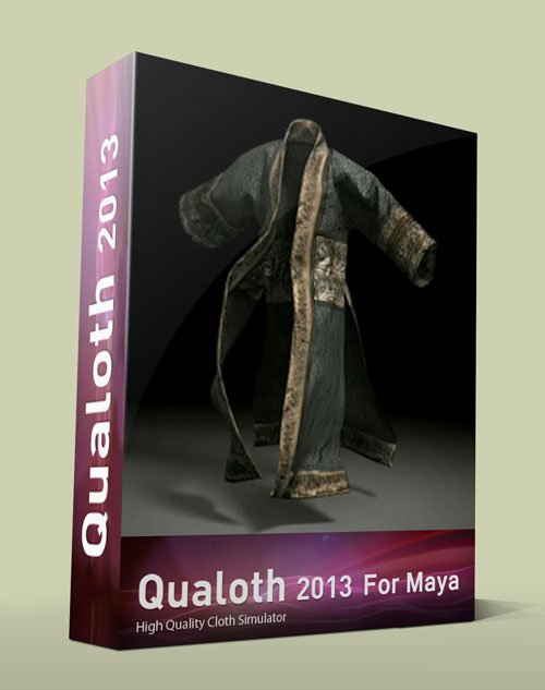 Qualoth 2013 v5 For Maya