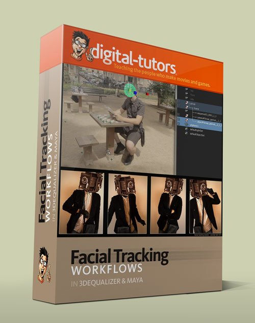 Digital - Tutors - Creative Development: Facial Tracking in 3DEqualizer and Maya