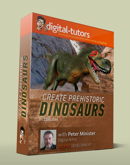 Digital - Tutors - Creative Development: Dinosaur Reconstruction in ZBrush with Peter Minister