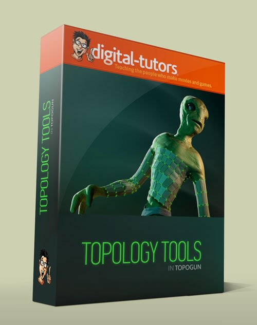 Digital - Tutors - Topology Tools in TopoGun 2.0