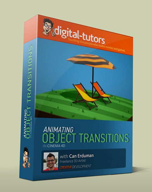 Digital - Tutors - Creative Development: Animating Object Transitions in CINEMA 4D with Can Erduman