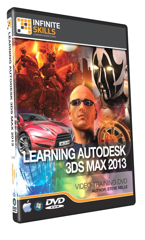 Learning 3ds Max 2013 Tutorial DVD - Video Training