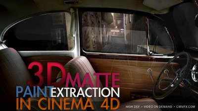 cmiVFX – Cinema 4D Matte Painting Extraction
