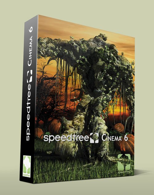 SpeedTree Cinema Ver. 6.2.2 Win/Mac