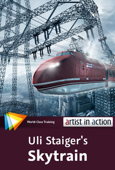 video2brain - Photoshop Artist in Action: Uli Staiger's Skytrain