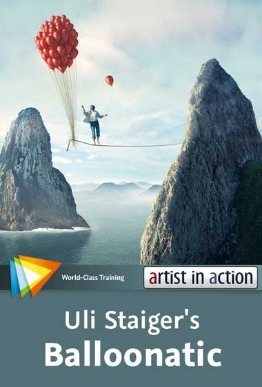 video2brain – Photoshop Artist in Action Uli Staiger's – Balloonatic – ( English )