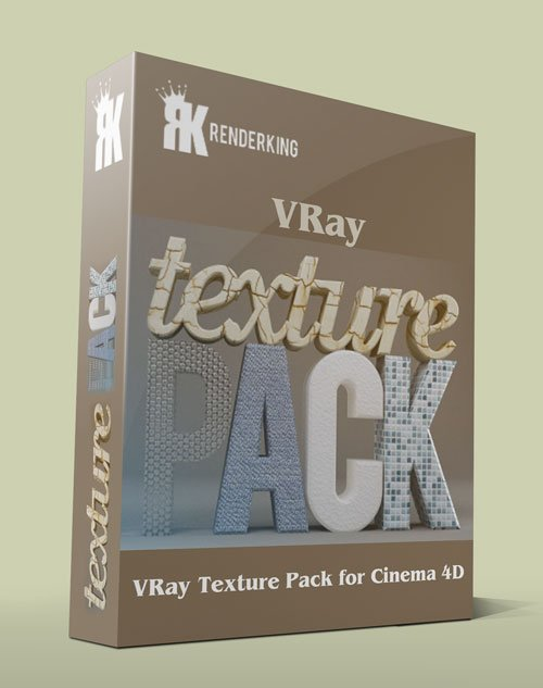 RenderKing – VRay Texture Pack for Cinema 4D
