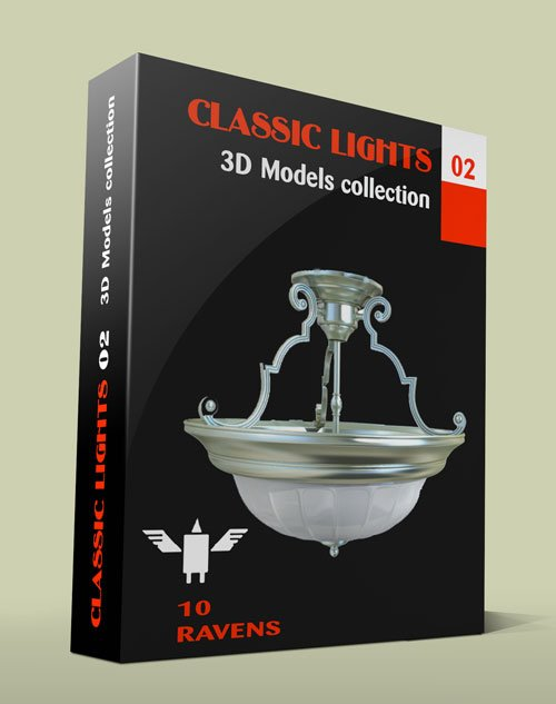 3D Models collection 022 Classic lights 02