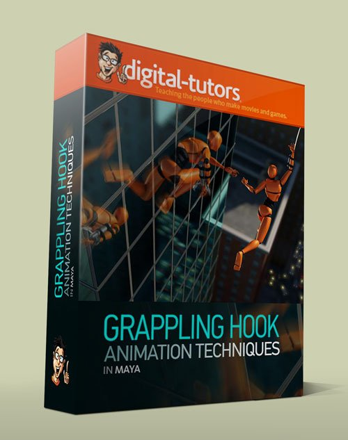 Digital - Tutors - Animating a Grappling Hook in Maya