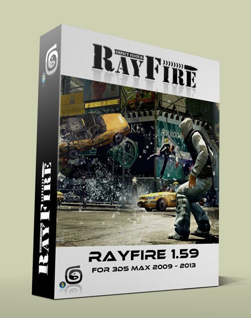 RayFire 1.59 for 3Ds Max 2009 / 2013