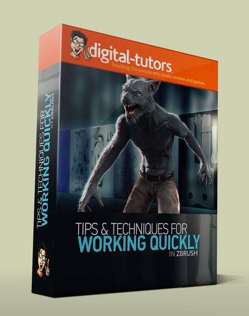 Digital - Tutors - Working Quickly in ZBrush