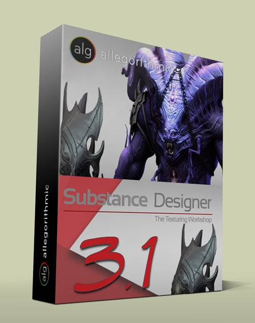 Allegorithmic Substance Designer 3.1.0 Build 10337 Win/Mac