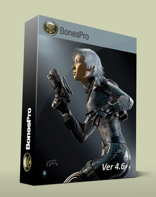 Bones Pro Ver. 4.6 For 3Ds Max 2013