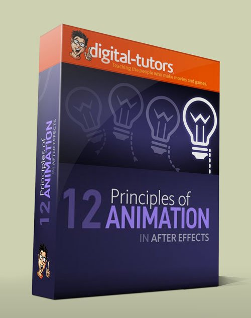 Digital - Tutors - 12 Principles of Animation in After Effects