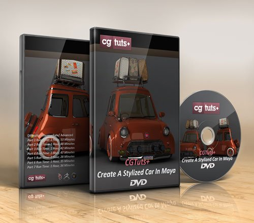 CGTuts+ Create A Stylized Car In Maya Full DVD