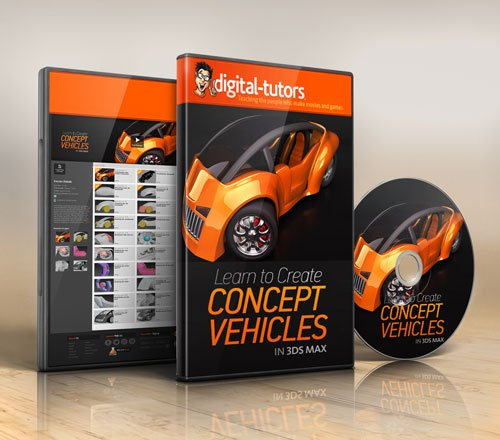 Digital - Tutors - Creating Concept Vehicles in 3ds Max
