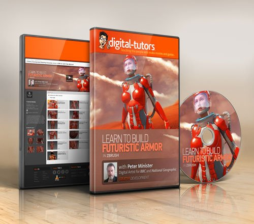 Digital - Tutors - Creative Development: Building Futuristic Armor in ZBrush with Peter Minister