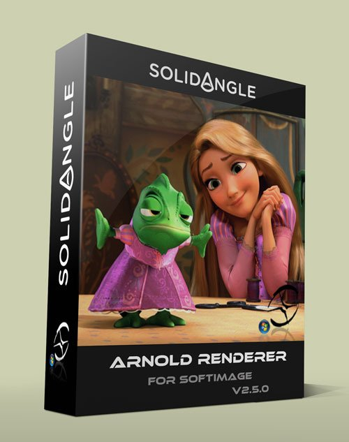 SolidAngle Softimage to Arnold (Sitoa) v2.5.0 Win