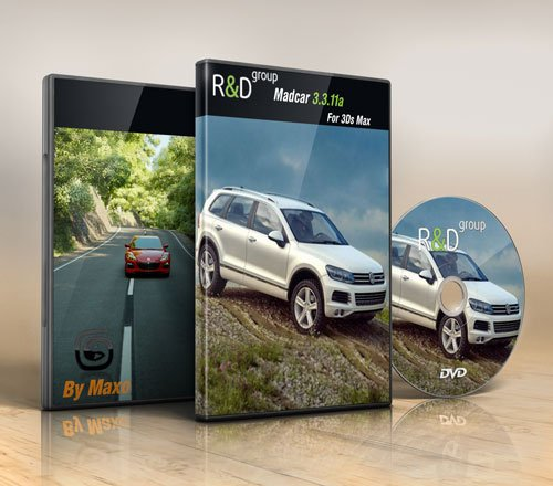 R&D Group – Madcar 3.3.11a For 3Ds Max 2008 / 2013