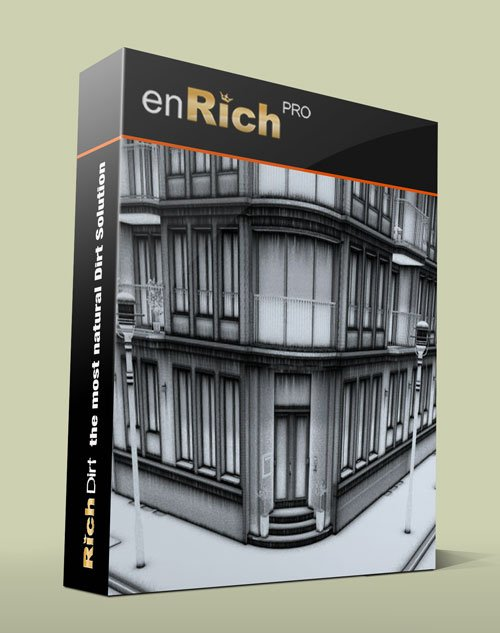 RichDirt PRO 1.1 For 3Ds Max 2010 – 2012 x86/x64Bit