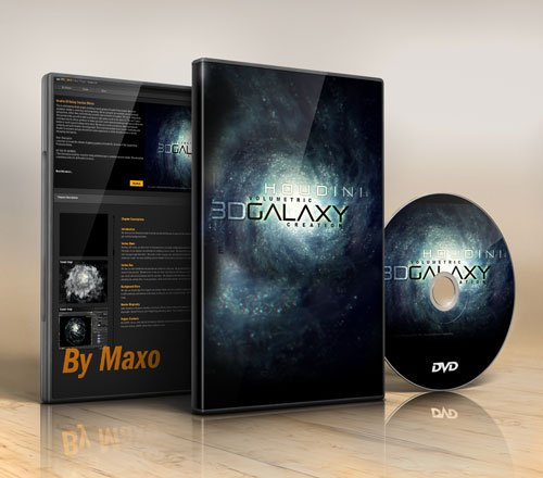 cmiVFX – Houdini 3D Galaxy Creation Effects