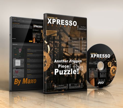 cmiVFX – Cinema 4D XPresso Volume 1