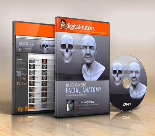 Digital - Tutors - Creative Development: Understanding Facial Anatomy in ZBrush