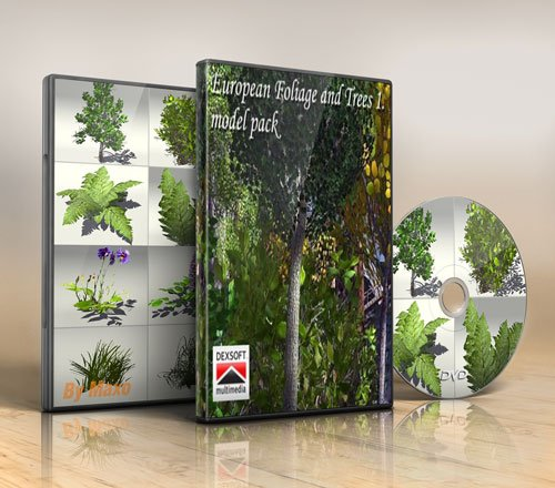 Dexsoft – European Foliage and Trees 1. model pack