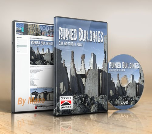 Dexsoft – Ruined Buildings Model Pack
